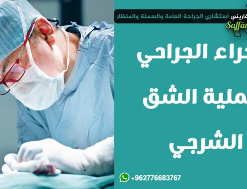 العلاج الجراحي للشق الشرجي
